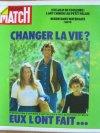 PARIS MATCH N° 1254 du 19 mai 1973, Jacques Massacrier part avec sa famille pour changer de vie